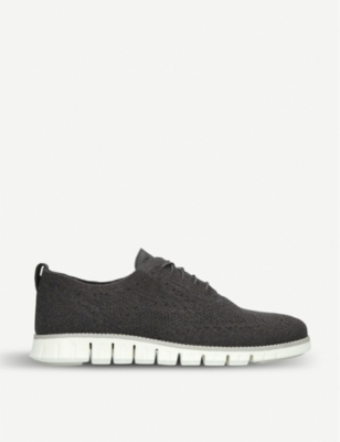 COLE HAAN Zerogrand Stitchlite wool knit oxford shoes