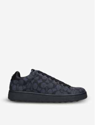 COACH C101 signature neoprene low-top trainers