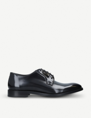 PAUL SMITH Chester flex leather derby shoes