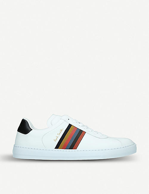 2f52c02a193 PAUL SMITH Levon leather sneakers