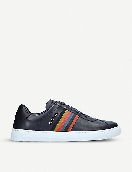 60a2c950242 PAUL SMITH Levon leather trainers