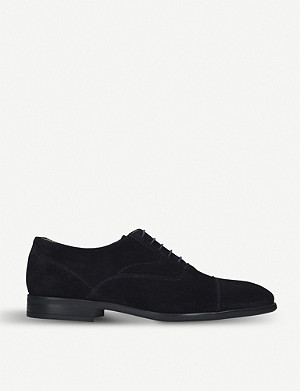PAUL SMITH Tomkins suede Oxford shoes