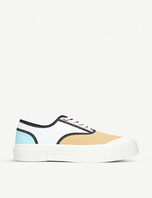GOOD NEWS Babe 2 organic cotton low-top trainers