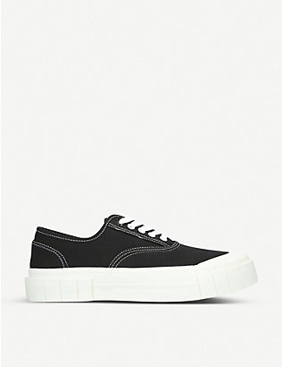 GOOD NEWS: Bagger organic cotton low-top trainers