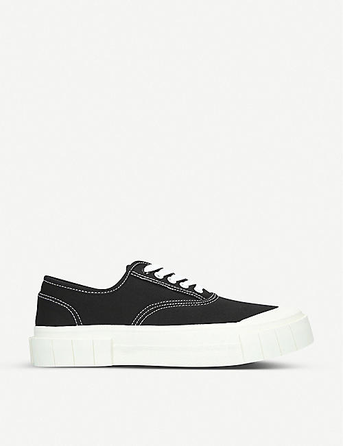 GOOD NEWS Bagger organic cotton low-top trainers