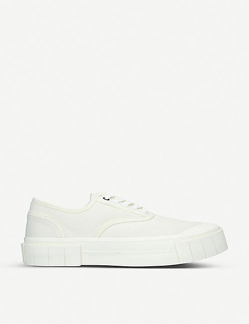 GOOD NEWS Bagger 2 organic cotton low-top trainers