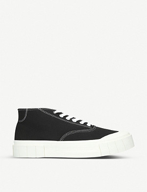 GOOD NEWS Bagger 2 organic cotton mid-top trainers