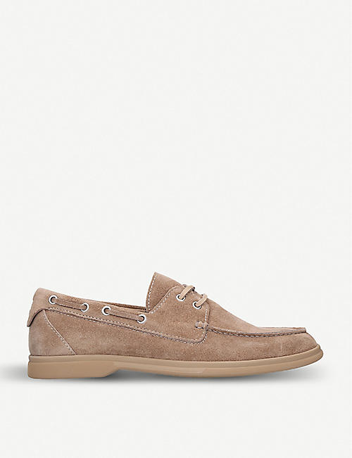 3e1b23998 BRUNELLO CUCINELLI Suede boat shoes