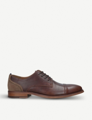 ALDO Doinna leather lace-up Derby shoes