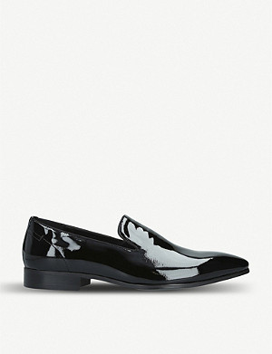 ALDO Zomba patent leather loafers