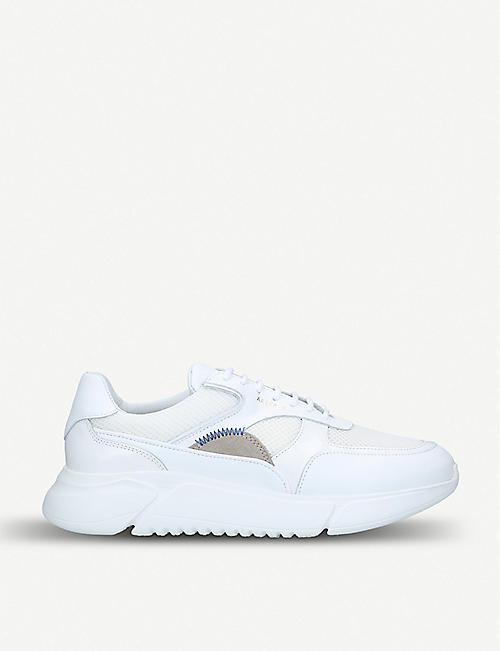 476661afd0d AXEL ARIGATO Genesis leather and mesh trainers