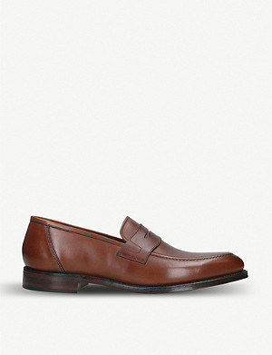 LOAKE Anson leather penny loafers