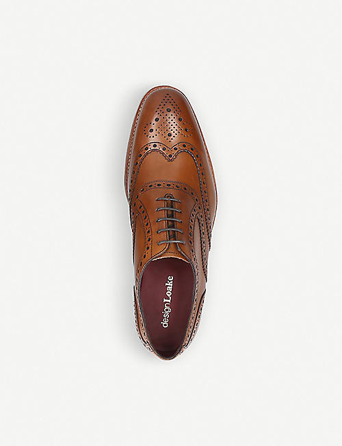 LOAKE Kerridge leather Oxford shoes