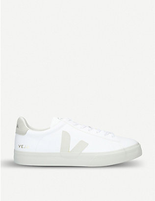 VEJA: Campo ChromeFree leather trainers