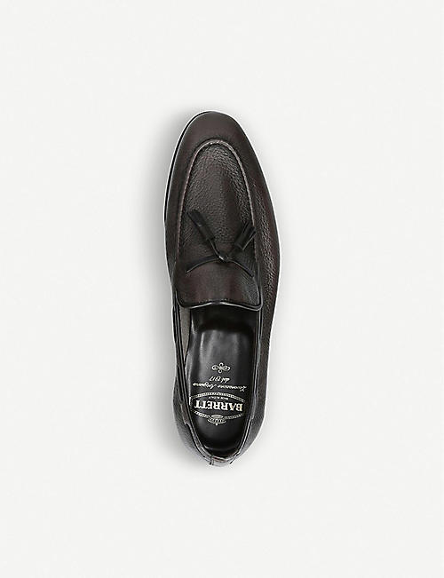 BARRETT Tassel deerskin-leather loafers