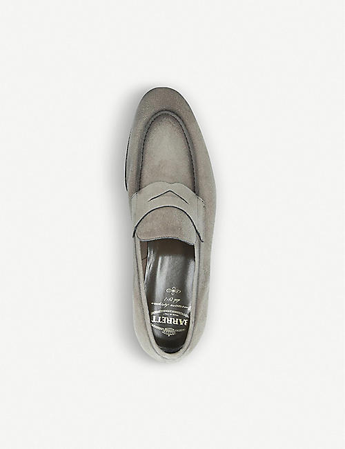 BARRETT Suede penny loafers