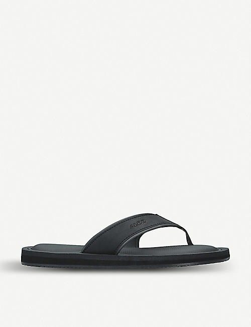 ALDO Norewiel faux-leather slides