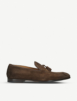 DOUCALS Max suede loafers