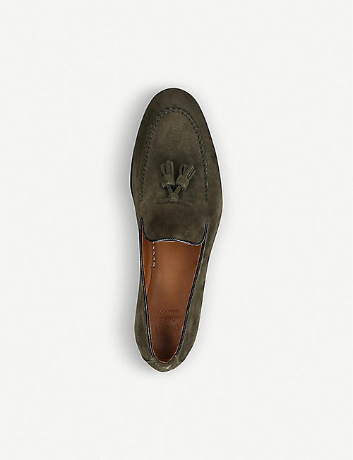 DOUCALS Max Flexi suede loafers
