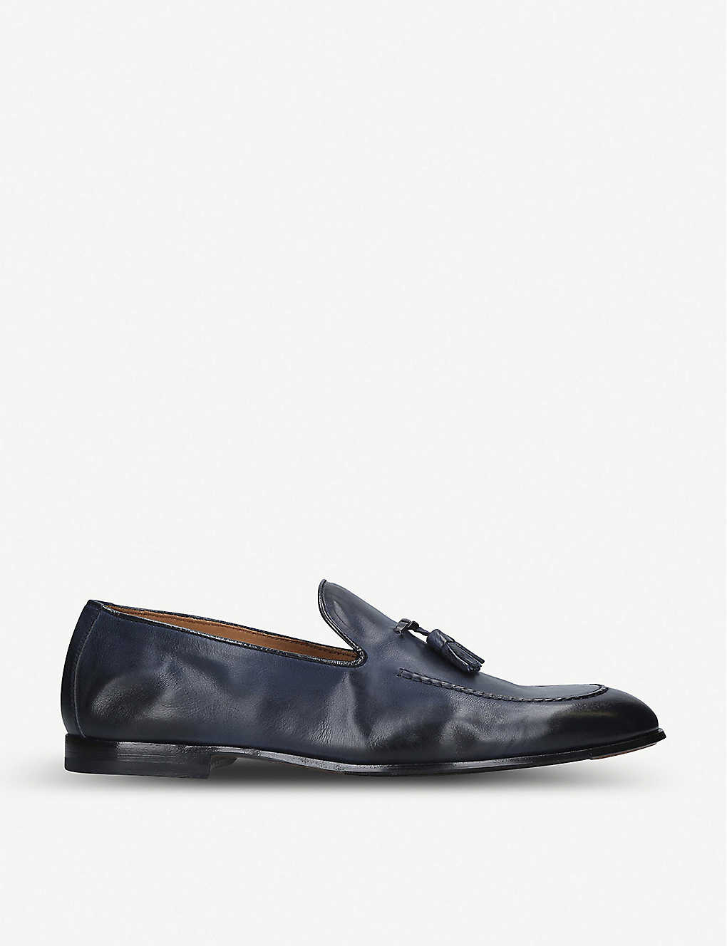 DOUCALS: Max flexi leather loafers