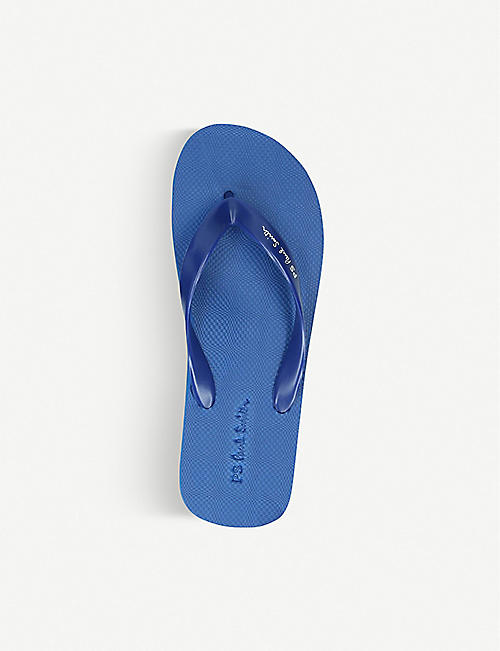 PAUL SMITH Dale rubber flip flops