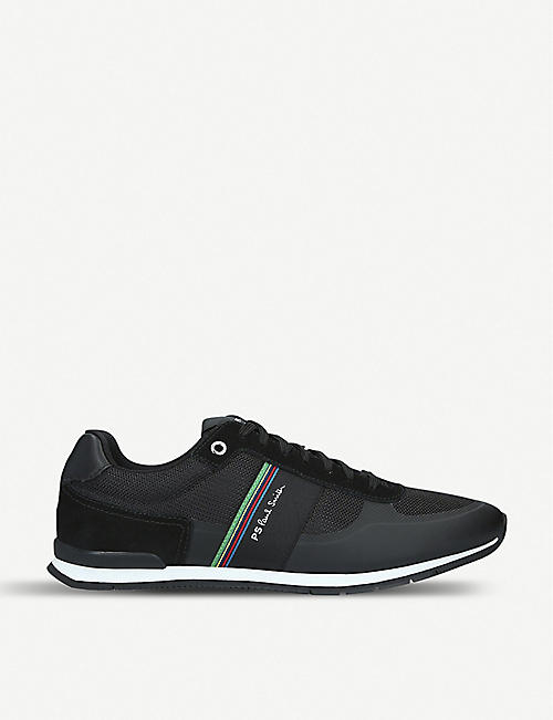 730e5a8c3 PAUL SMITH Ericson suede and mesh trainers