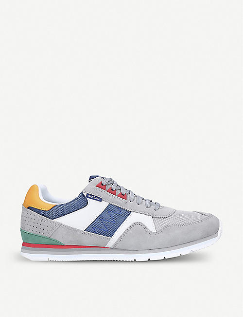 PAUL SMITH Vinny suede and mesh trainers