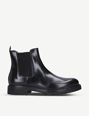 KURT GEIGER LONDON Cade leather Chelsea boots