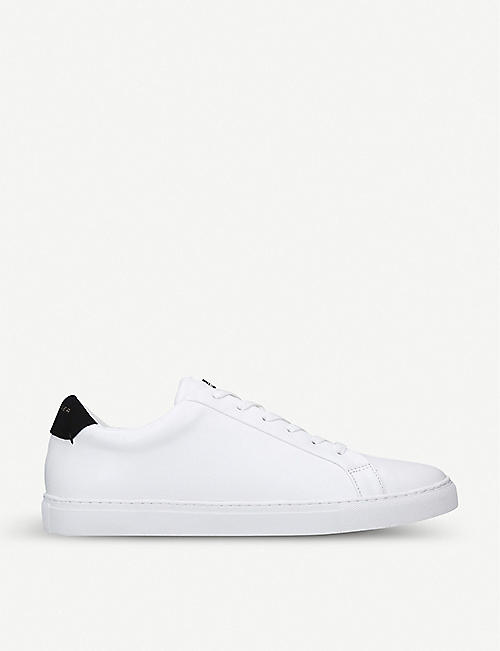 KURT GEIGER LONDON Donnie leather trainers