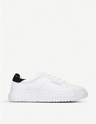KURT GEIGER LONDON: Noah leather trainers