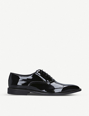 KURT GEIGER LONDON Sloane patent leather Oxford shoes