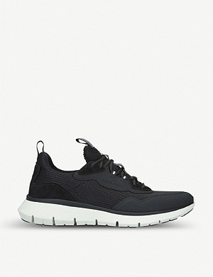COLE HAAN ZERØGRAND mesh, knit and leather trainers