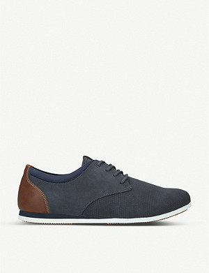 ALDO Aauwen-R faux-suede and mesh trainers
