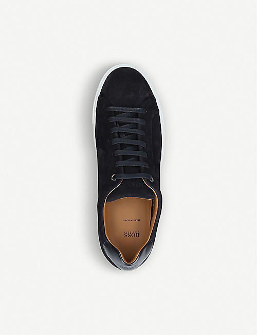 BOSS BY HUGO BOSS Mirage 10 suede trainers