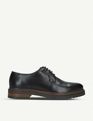 KURT GEIGER LONDON Farringdon leather derby shoes