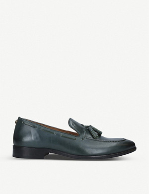 KURT GEIGER LONDON Levi leather tassel loafers