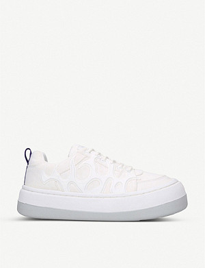 EYTYS Sonic canvas low-top trainers
