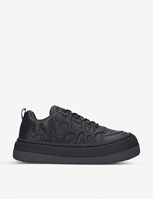 EYTYS Sonic leather low-top trainers