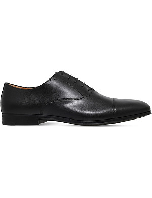 STEMAR Toecap-detail leather Oxford shoes