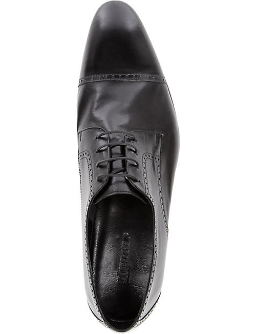 STEMAR Softy leather Derby shoes