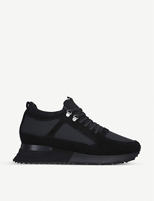 MALLET Diver 2.0 Midnight suede trainers