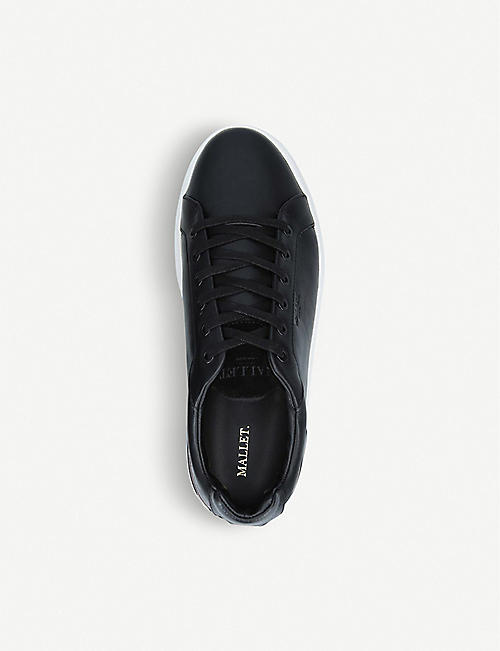 MALLET Grafton leather trainers
