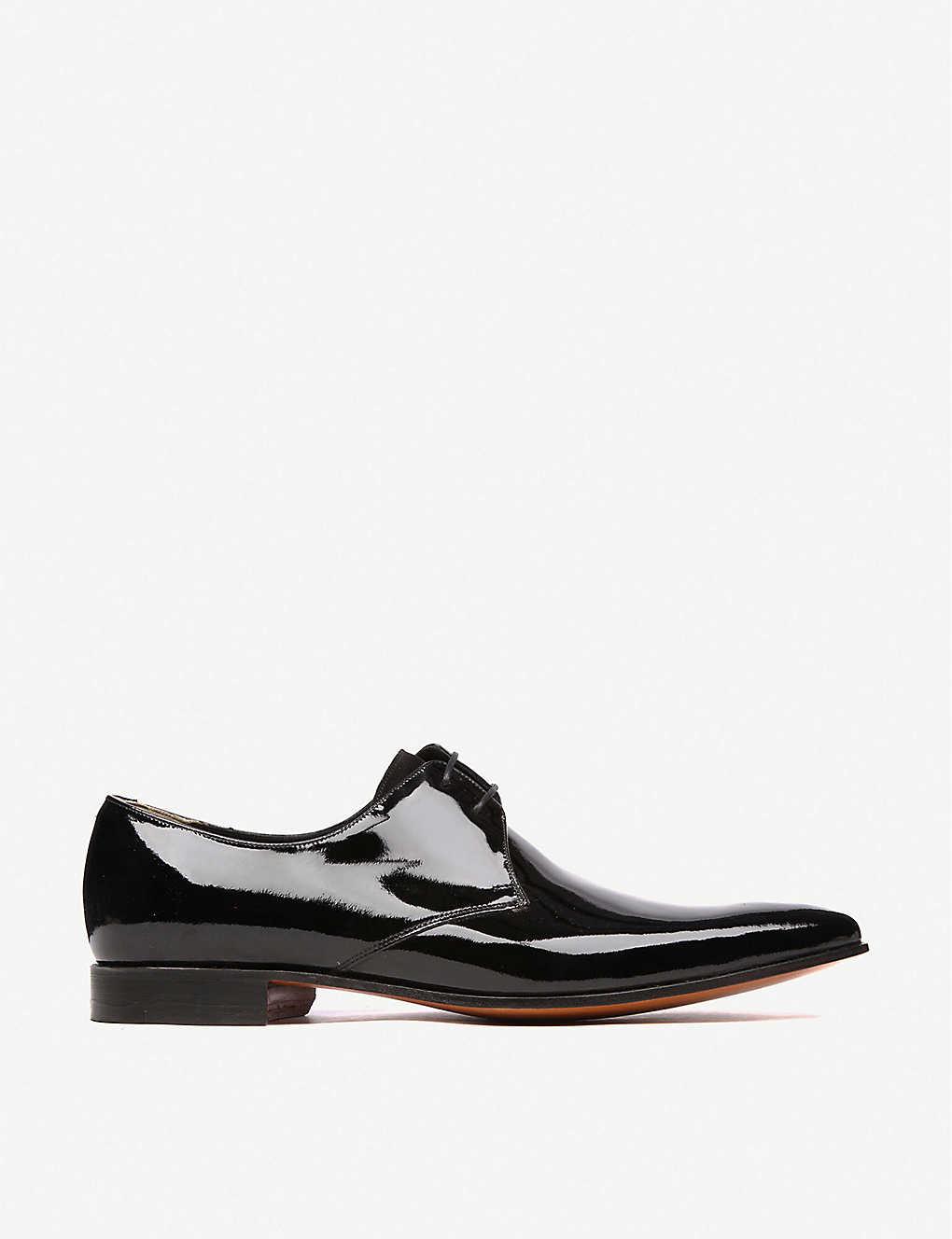 2a2cc426 BARKER - Goldington patent Derby shoes | Selfridges.com