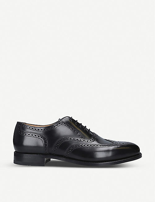 LOAKE 202 leather brogues
