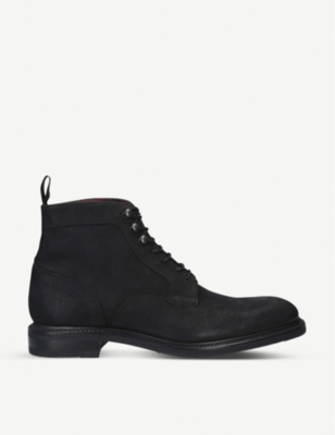 LOAKE Crow lace-up leather boots
