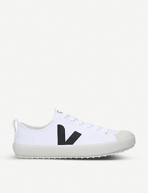 VEJA Nova organic-cotton low-top trainers