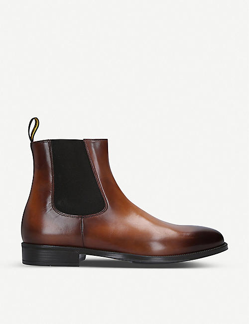 DOUCALS Augusta leather Chelsea boots