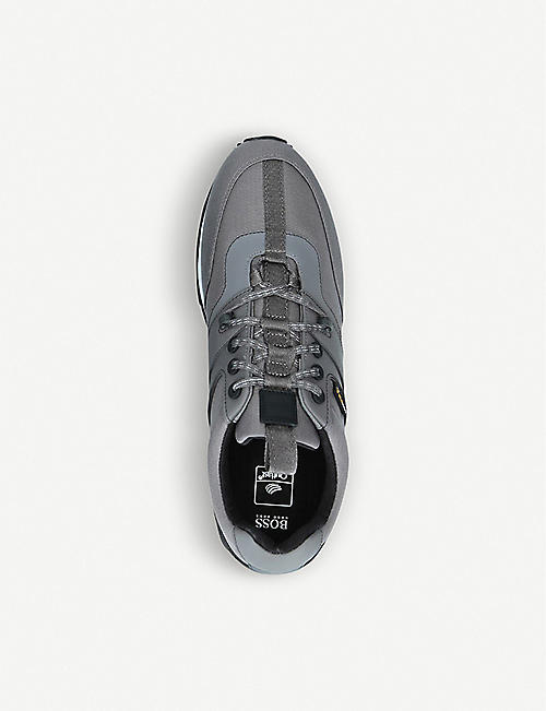 BOSS Parkour cordura panelled trainers