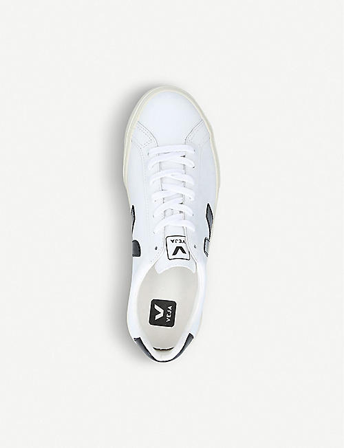 VEJA ESPLAR branded leather trainers