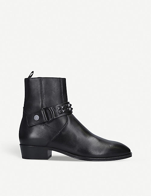 REPRESENT CLOTHING Studded leather ankle boots